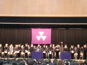 デイヴィスでの卒業式